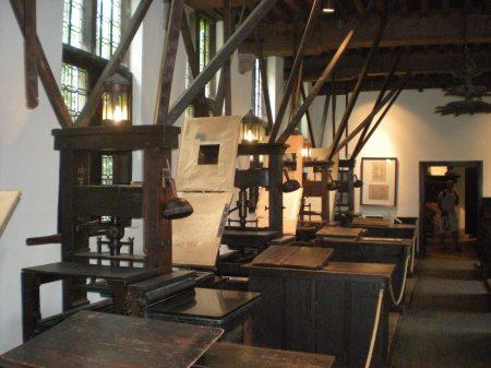 Museum Plantin-Moretus - More Printing Machines