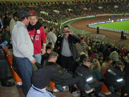 At Belarus England in Minsk