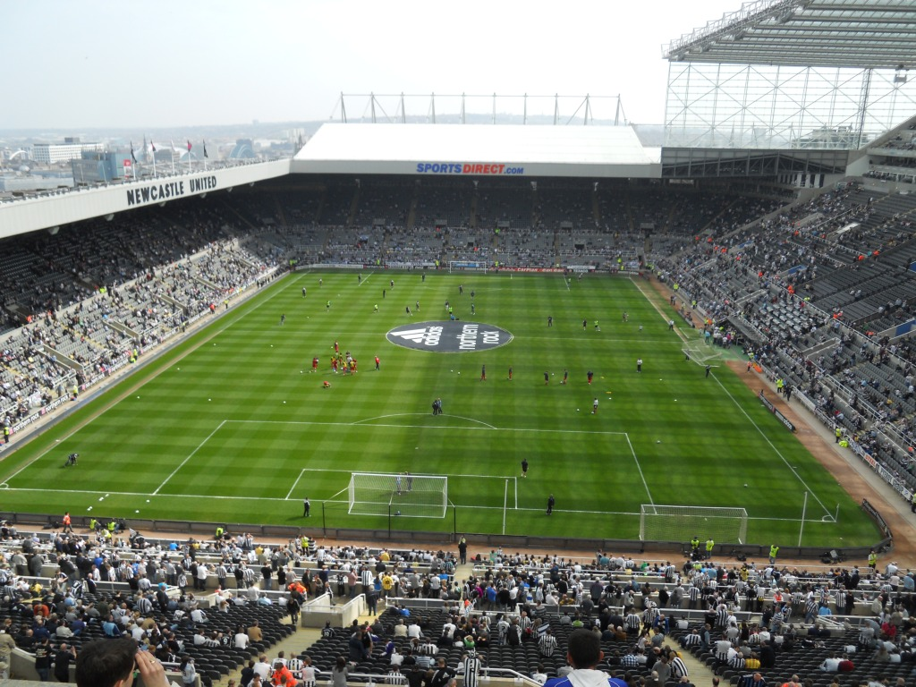St. James' Park, Newcastle