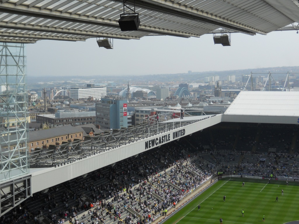 View of Newcastle from St. James' Park