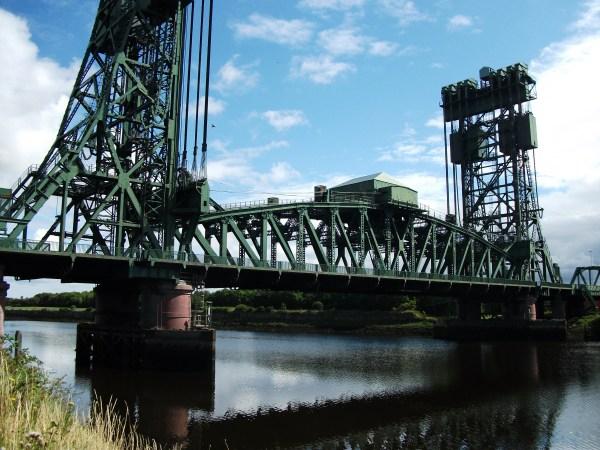 The Newport Lifting Bridge