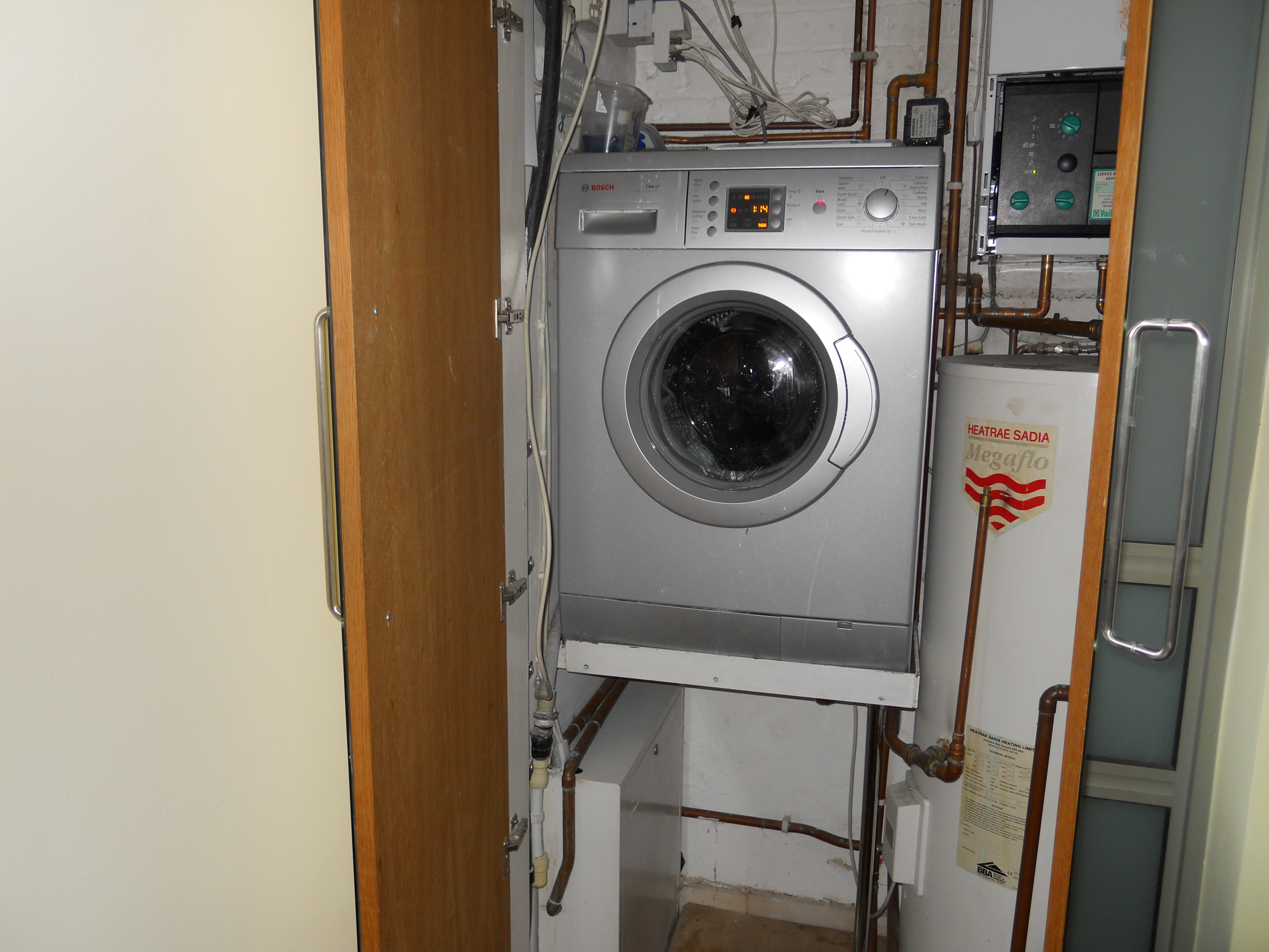 how much to install a washing machine
