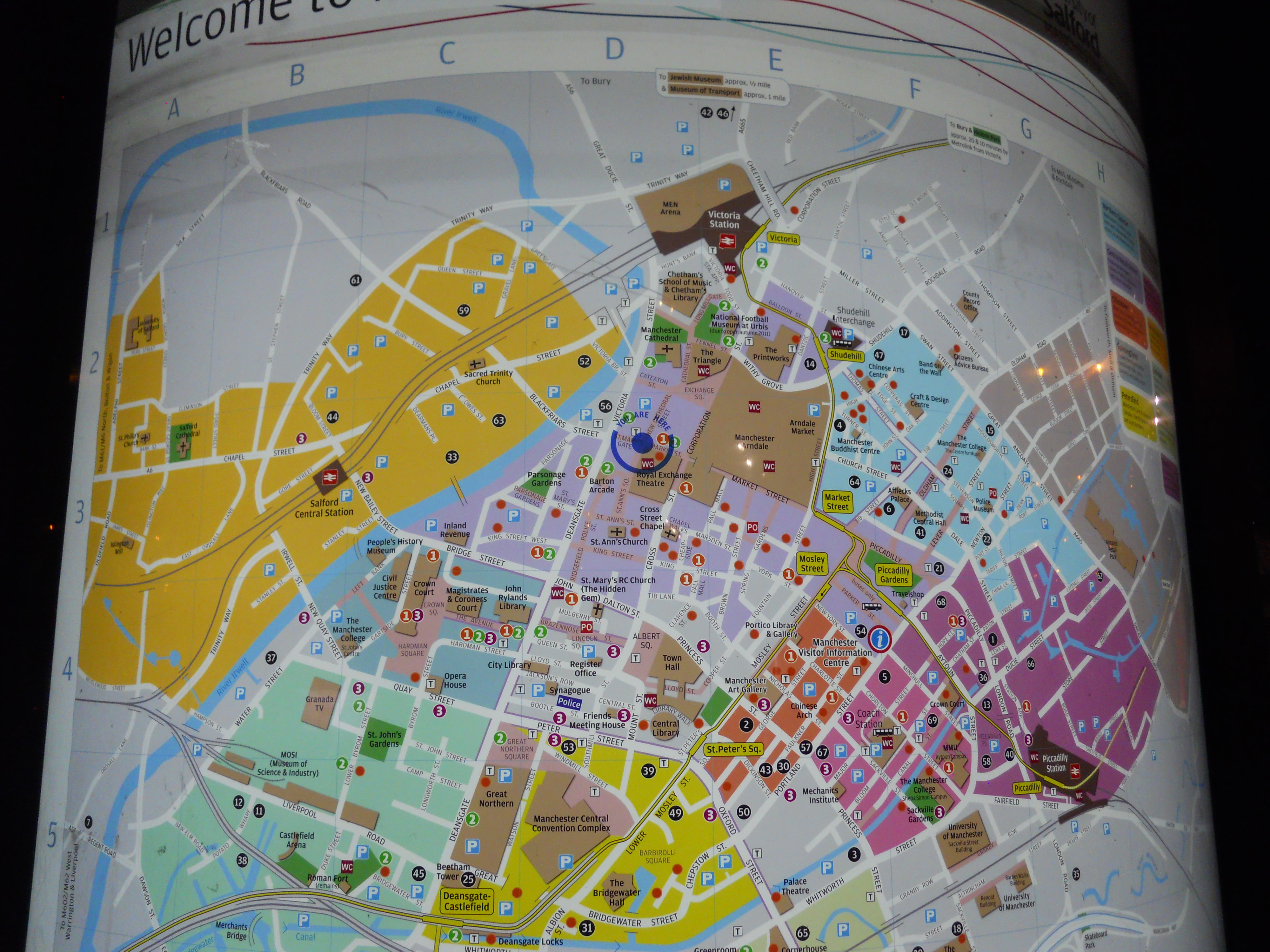 At Last A Decent Map Of Manchester The Anonymous Widower