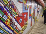 Paolozzi Mosaics at Tottenham Court Road