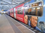 A Swiss Train at the new Blackfriars Station