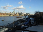 The Thames from the new Blackfriars Station