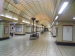 Central Hall at Gants Hill Station