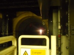 Train Aproaching Wapping Through the Thames Tunnel