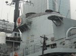 The Crazy Red Chicken on HMS Liverpool