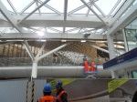 Looking Under the New Roof at Kings Cross Station