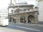 St. Mary Woolnoth, Starbucks and the Entrance to Bank DLR Station