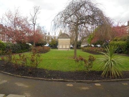 A Temple In A Garden