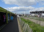 The Busy Greenway by the Olympic Park