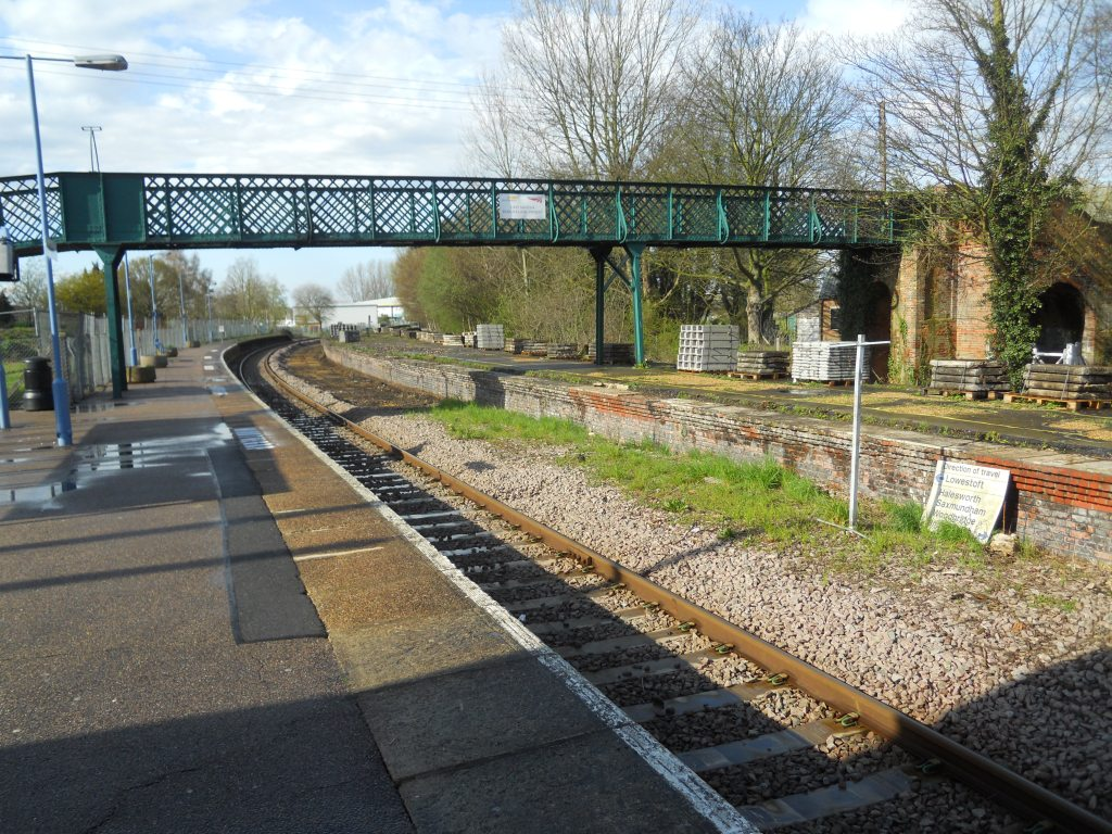 Beccles Station - April 2013