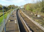 View from the Bridge at Beccles Station Looking North