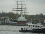 Cutty Sark From the North Bank of the Thames