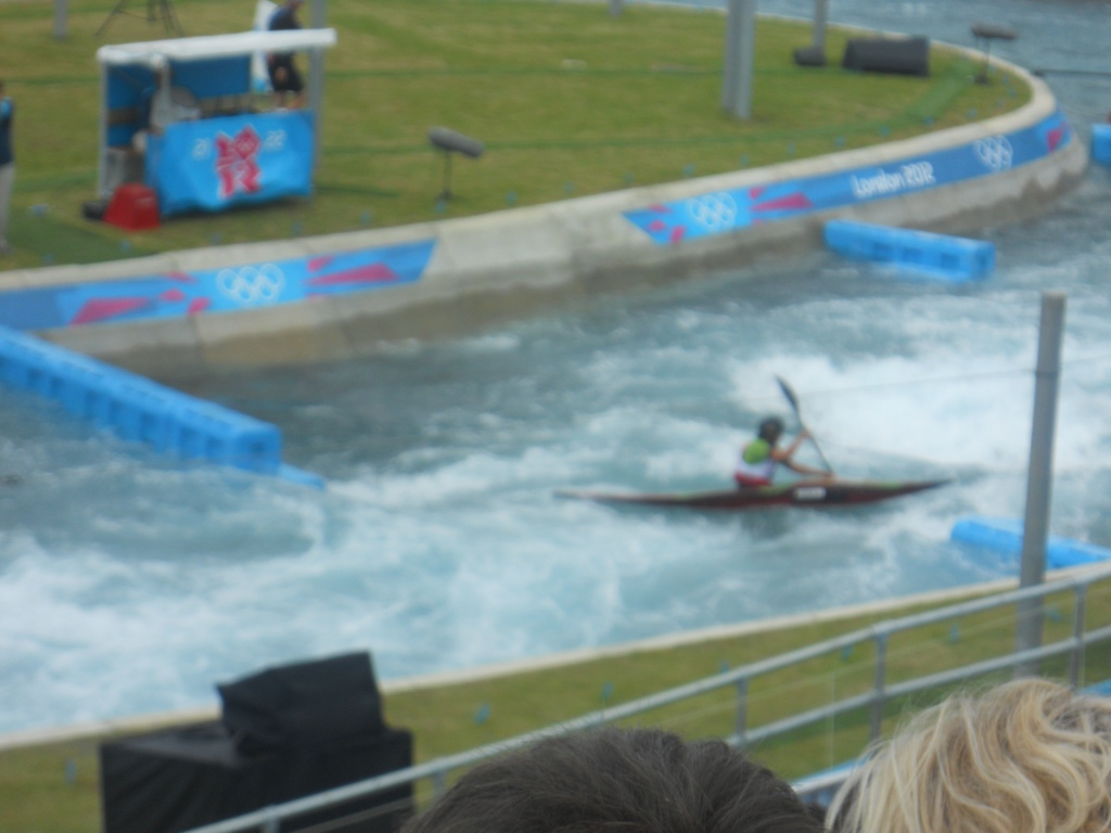 Canoe Slalom At The Lee Valley