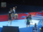 Table-Tennis At The ExCel - Note The Umpire