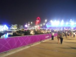 The Olympic Park At Night