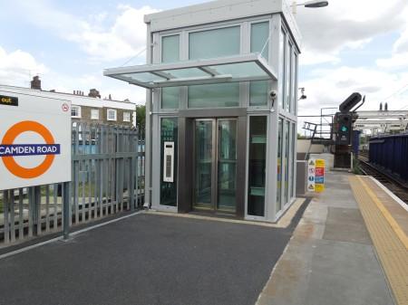 New Lifts At Camden Road