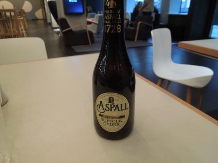 Aspall's New Bottle