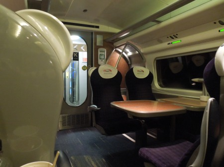 Empty First Class On Virgin Trains