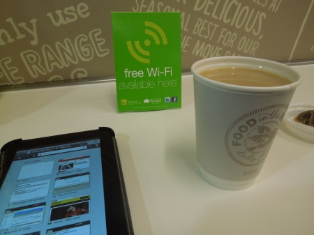 Free Wi-Fi In Marks And Spencer