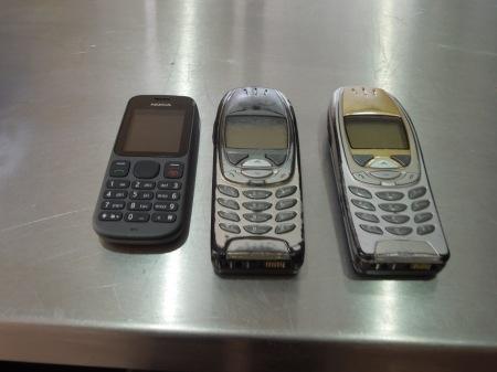 Three Nokia Phones
