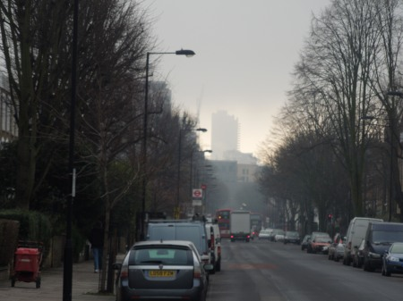 Cromwell Tower In The Mist