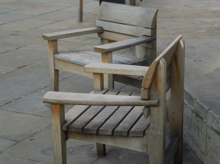 Armchairs Outside St. Paul's