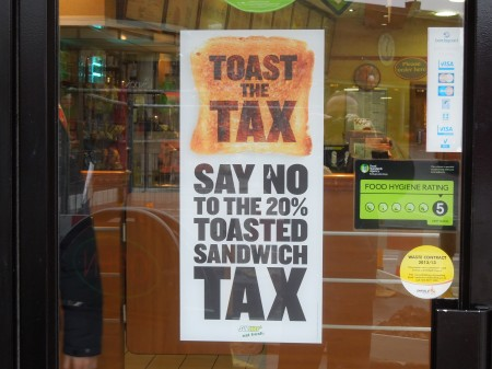 Toast The Tax