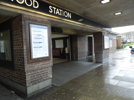 The Entrance To Oakwood Station