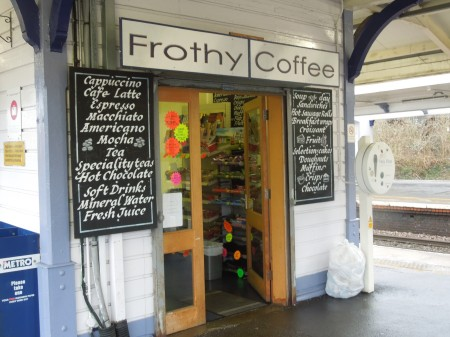 Frothy Coffee At New Barnet Station