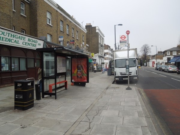 One Of London's Step-Free Bus Stops