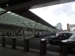 The New Taxi Rank At Paddington Station
