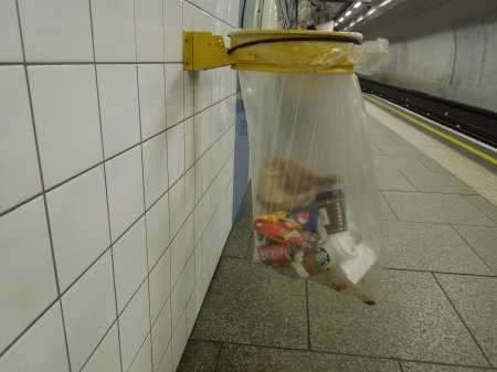 More Bins Are Appearing On The Underground