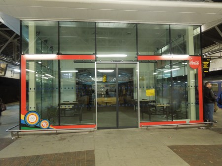 The Closed Buffet At Bolton Station