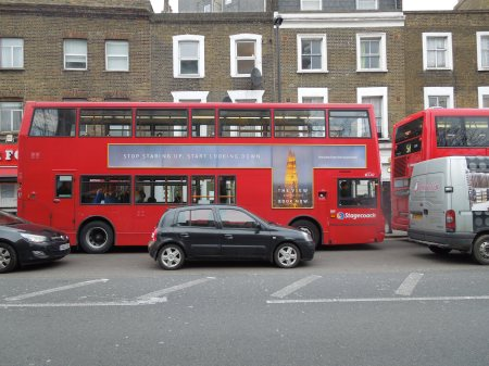 The Shard Is Now On The Buses