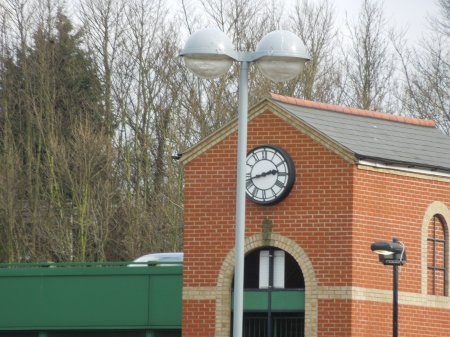 A Public Clock In Ipswich