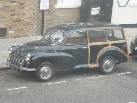 A Half-Timbered Car!