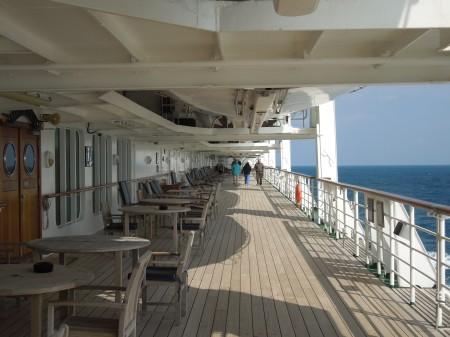 Promenading On Deck