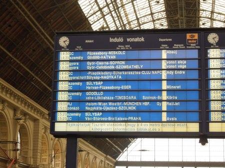 Budapest Departures