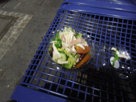 A Revolting Salad At Munich Station
