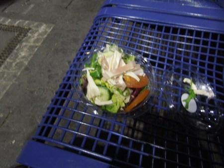 A Revolting Salad At Munich Station