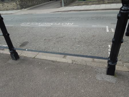 A Pedestrian Trap In Cambridge