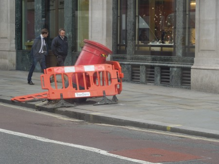 A Bad Case Of Oops On Regent Street
