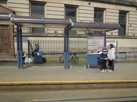 Fitzalan Square Tram Stop