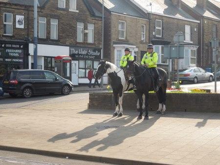 Police Horses At Hillsborough