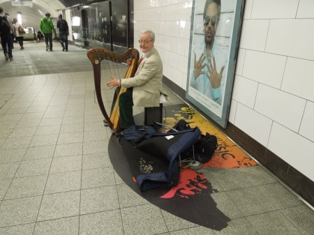 The Underground Harpist