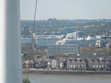 The World From The Emirates Air-Line